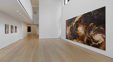 Contemporary art exhibition, Teresita Fernández, Maelstrom at Lehmann Maupin, 501 West 24th Street, New York