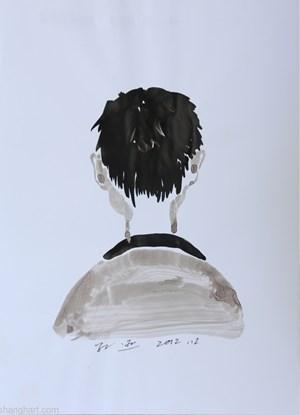 The Ignored Man by Sun Xun contemporary artwork