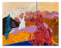 Veduta (Avery/Tree) by Whitney Bedford contemporary artwork painting