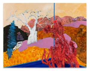 Veduta (Avery/Tree) by Whitney Bedford contemporary artwork