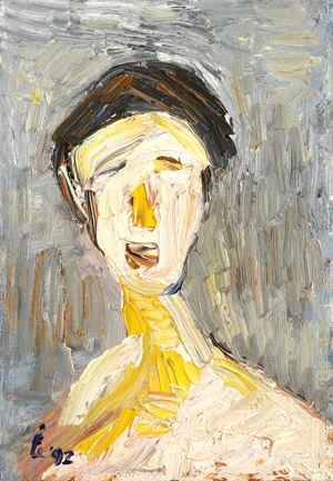 Self-portrait by Liang-Tsai Lin contemporary artwork