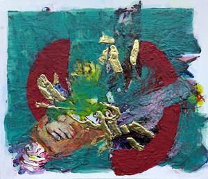 Unity for Hope by Zakir Salam contemporary artwork
