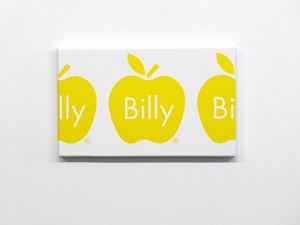Billy Apple Frieze (Yellow) by Billy Apple contemporary artwork