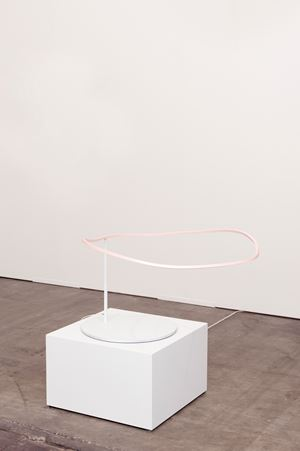 Coloring the WiFi (with Pale Pink) by Davide Balula contemporary artwork