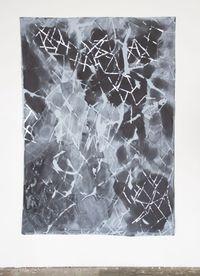 rückwärtsgewitter by Myriam Holme contemporary artwork painting, mixed media