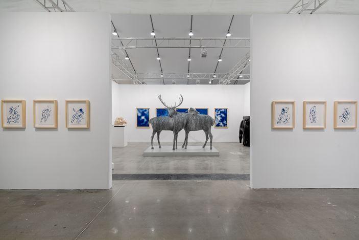 Exhibition view: West Bund Art & Design, Shanghai (7–10 November 2019). Courtesy Galerie Dumonteil.