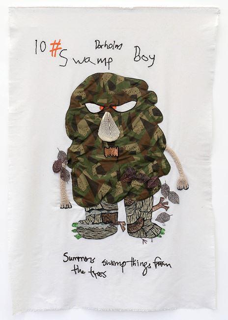 Swamp Boy by Charrette van Eekelen contemporary artwork