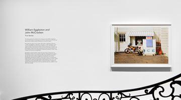 Contemporary art exhibition, William Eggleston, John McCracken, True Stories at David Zwirner, 69th Street, New York