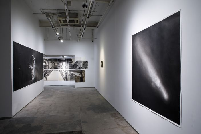 Exhibition view: Julien Segard, A View From Nowhere, Experimenter, Hindustan Road (21 April–30 June 2021). Courtesy Experimenter.