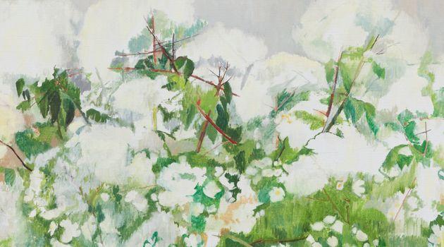 Contemporary art exhibition, Charlotte Verity, Echoing Green at Karsten Schubert London