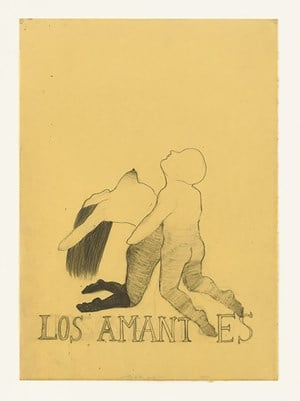 LOS AMANTES by Sandra Vásquez de la Horra contemporary artwork