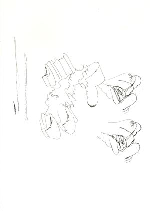 부적02 Heart to Heart02 by Hyunjin Bek contemporary artwork