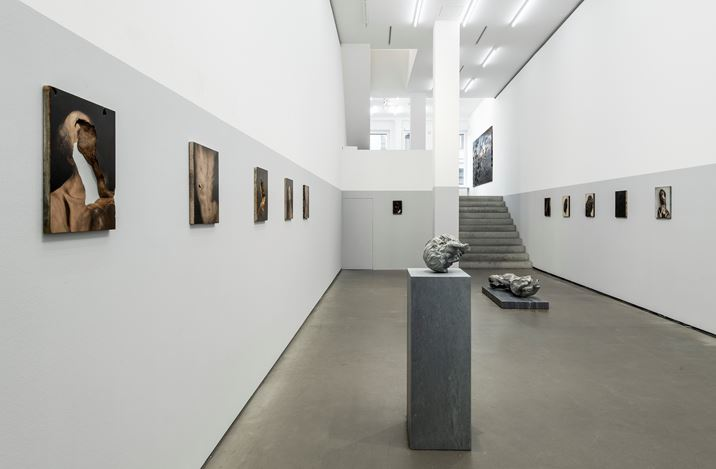 Exhibition view: Nicola Samorì, In abisso, Galerie EIGEN + ART, Berlin (3 September–31 October 2020). Courtesy Galerie EIGEN + ART Leipzig/Berlin. Photo: Uwe Walter, Berlin.