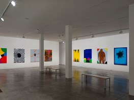 """David Shrigley<br><em>Oil Paintings</em><br><span class=""""oc-gallery"""">Two Rooms</span>"""
