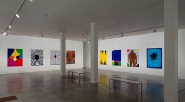 Contemporary art exhibition, David Shrigley, Oil Paintings at Two Rooms, Auckland