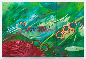 Music of the Spheres: Mercury by Mildred Thompson contemporary artwork