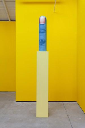Finger by Nicolas Party contemporary artwork