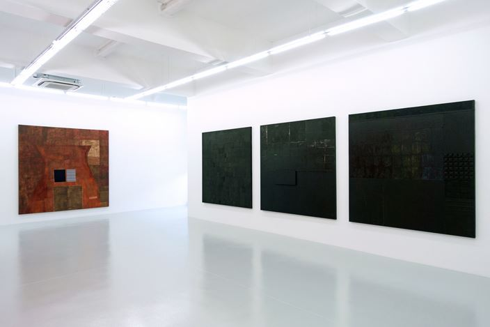 Exhibition view: Pinaree Sanpitak, Bodily Space: Confessed and Concealed, Yavuz Gallery, Singapore (12 October–17 November 2019). Courtesy Yavuz Gallery.