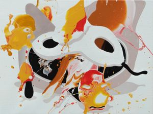 World logic by José Castiella contemporary artwork painting
