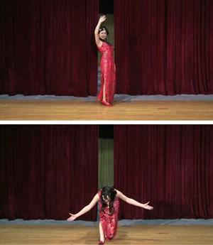 Curtain call by Jiang Zhi contemporary artwork