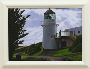 Lighthouse by Dick Frizzell contemporary artwork