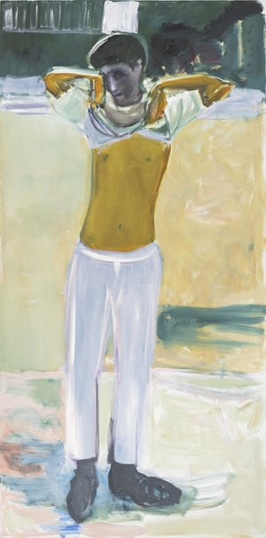 No Belt by Marlene Dumas contemporary artwork