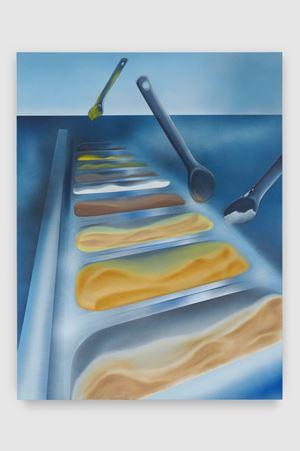 Counter Mirage (Vacanze Romane) by Nicholas Hatfull contemporary artwork