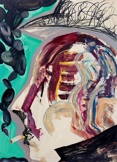 Black Smoke by Tang Jo-Hung contemporary artwork