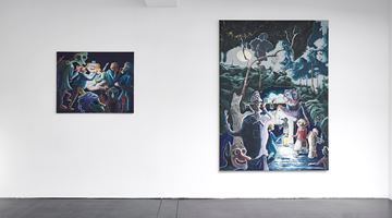 Contemporary art exhibition, Pierre Knop, Feast of Fools at Choi&Lager Gallery, Cologne