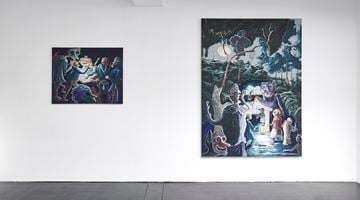 Contemporary art exhibition, Pierre Knop, Feast of Fools at Choi&Lager Gallery, Cologne, Germany