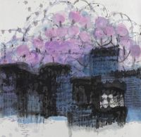 PURPLE EARTH by Lee Chung-Chung contemporary artwork painting, works on paper, drawing