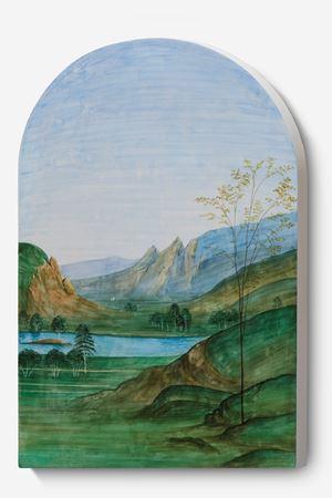 Landscape Portrait-Perugia 01 B by Dong Dawei contemporary artwork painting