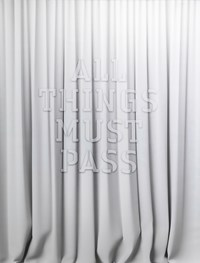 All things must pass by Mary-Louise Browne contemporary artwork sculpture