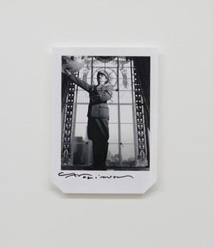A Little Requiem: Where is the Dictator? 2, B/W by Yasumasa Morimura contemporary artwork