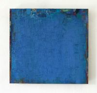 Blau by Peter Tollens contemporary artwork painting