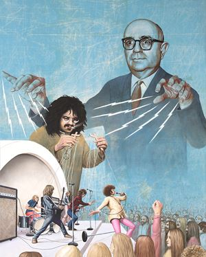 Alt Right Myths #3, Frankfurt Schoolhouse Rocks! by Jim Shaw contemporary artwork