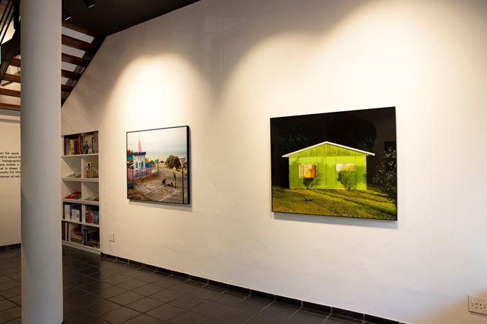 Exhibition view: Johno Mellish and Nyasha Marovatsanga,Different Angles, THK Gallery, Cape Town (7 February–16 April 2020). Courtesy THK Gallery.