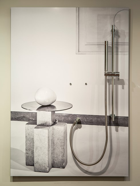 Who Do You Think You Are (shower) by Margaret Lee contemporary artwork