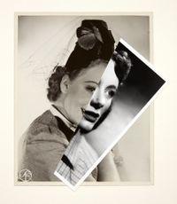 She (Film Portrait Collage) XXXVIII by John Stezaker contemporary artwork mixed media