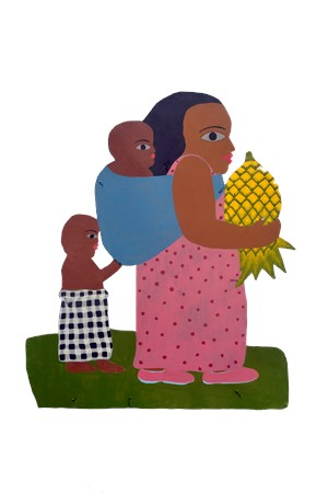 Pineapple Lady by Jumaadi contemporary artwork