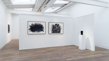 Contemporary art exhibition, Heinz Mack, Ink drawings and ceramics at Beck & Eggeling International Fine Art, Düsseldorf