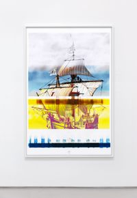 The Painted One by Evan Trine contemporary artwork print