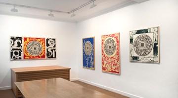 Contemporary art exhibition, Pierre Alechinsky, Quatorze peintures de l'été 2017 at Galerie Lelong & Co. Paris, 13 Rue de Téhéran, Paris, France