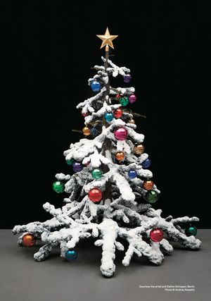 Fraught Times: For Eleven Months of the Year it's an Artwork and in December it's Christmas (March) by Philippe Parreno contemporary artwork