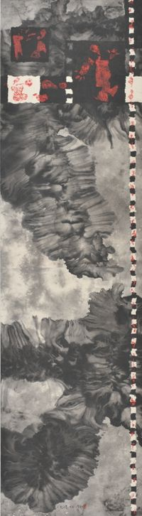 From day to night, from freedom to nature No.2 (從白天到黑夜,從自由到自然之二) by Qiu Deshu contemporary artwork painting