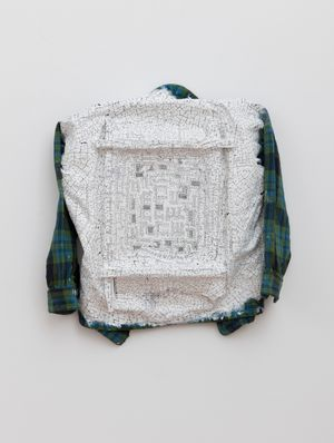 War Drawing Shirt by Kim Jones contemporary artwork