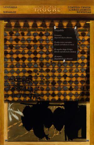 Shop in Granada by Atul Dodiya contemporary artwork