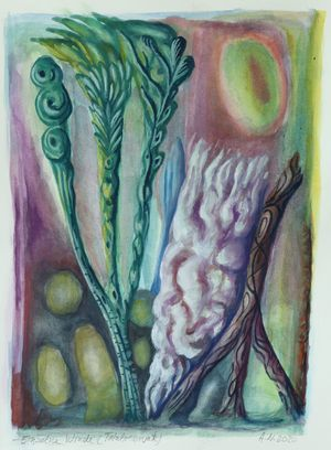 Einzelne Winde (Totalreservate) by Hartmut Neumann contemporary artwork