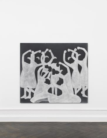 Exhibition view: Silke Otto-Knapp, What are the directions on a map?, Galerie Buchholz, Berlin (14 February–1 April 2020).Courtesy Galerie Buchholz Berlin/Cologne/New York.