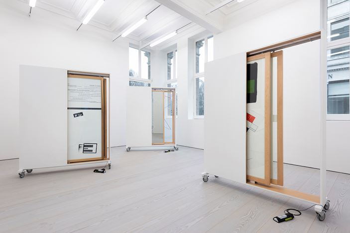 Exhibition view: Group Exhibition, That Which is Not Drawn, Marian Goodman Gallery, London (25 January–23 February 2019). Courtesy Marian Goodman Gallery.